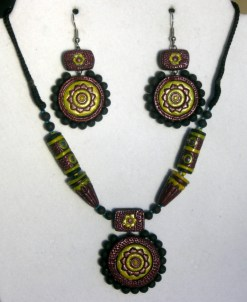 Jewelry sets from Chiguru, an enterprise of the Jugurtha Mahila Sanghatan
