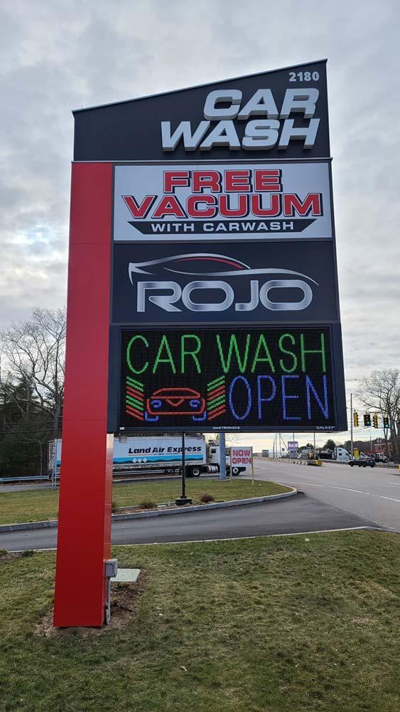 ROJO CAR WASH Sign by Signarama Walpole