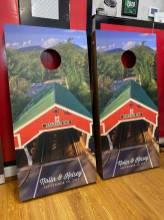 Unique Project Cornhole Boards