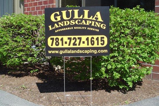 Yard and Lawn Signs by Signarama Walpole, MA
