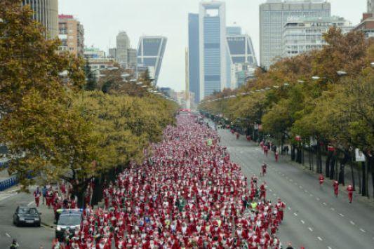 Χιλιάδες Μαδριλένοι στους δρόμους της Ισπανίας / Εικόνα: AFP
