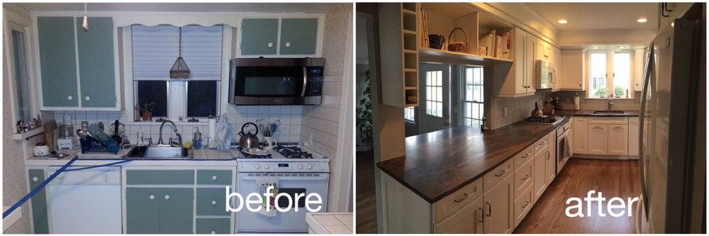Before & After - Kitchens - Kitchen Remodeling, Kitchen Renovation ...