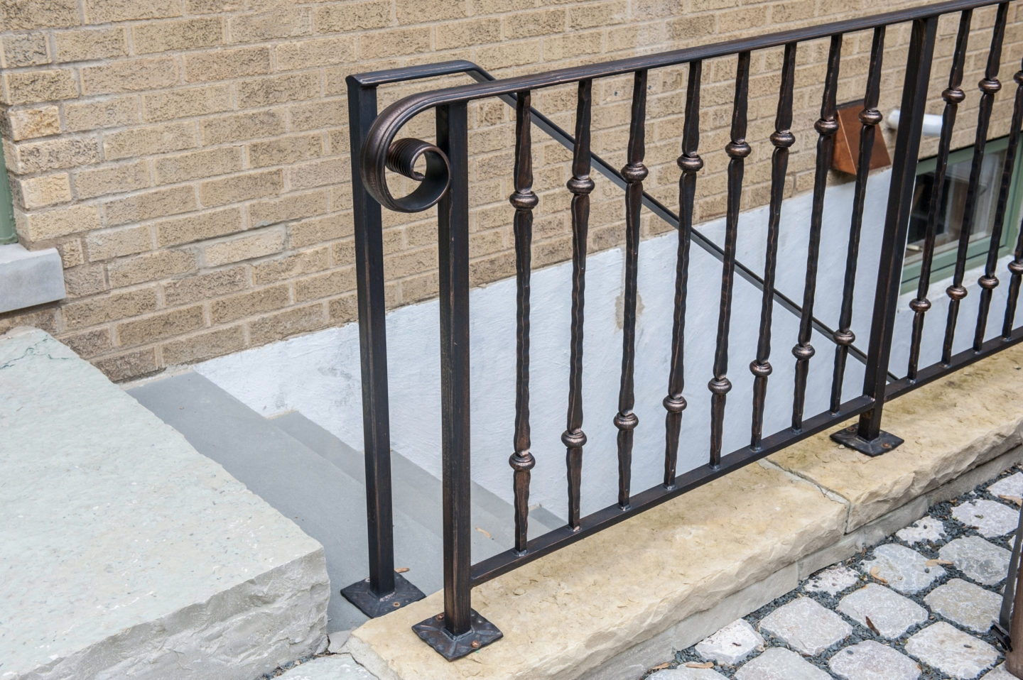 Looking For Custom Rustic Residential Collar Railing Signature   Rustic Wrought Iron Stair Railings   Simple   House   Cabin   Iron Baluster   Contemporary