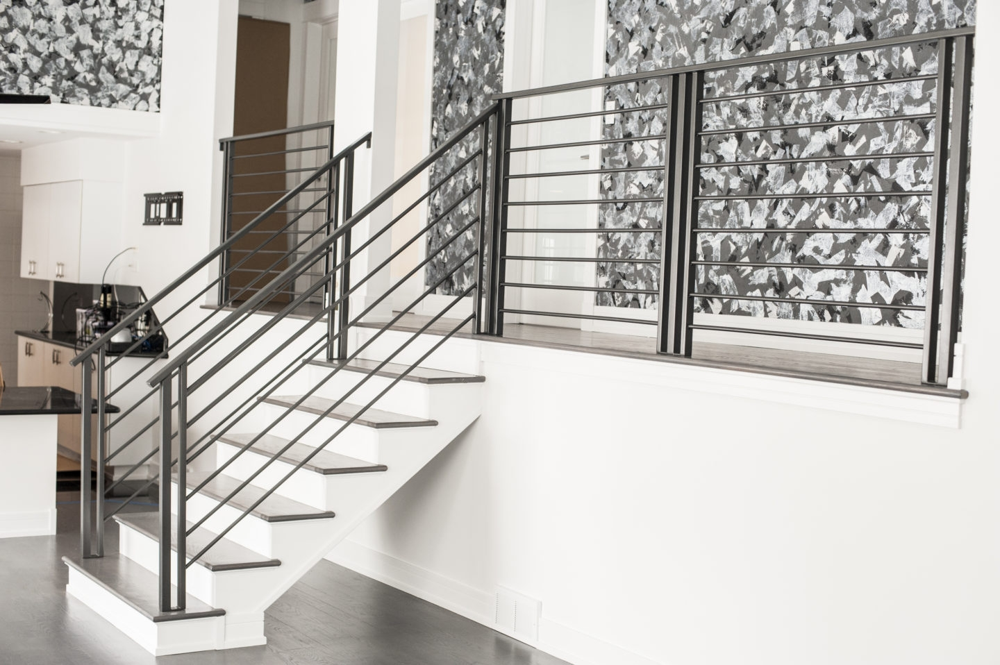 Looking For Custom Urban Modern Residential Horizontal Bar Type | Contemporary Wrought Iron Railings | Victorian | Stainless Steel | Glass | Wood | Decorative