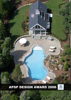 APSP DESIGN AWARD 2006 - Signature Pool & Spas