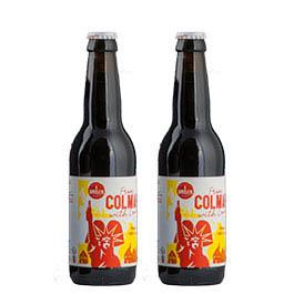 Photo de 2 bières de COLMAR – La Brasserie du GRILLEN - 2 x 33 cl