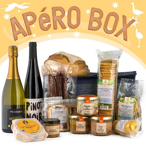 Photo des produits de la COLMAR BOX APéRO TERROIR