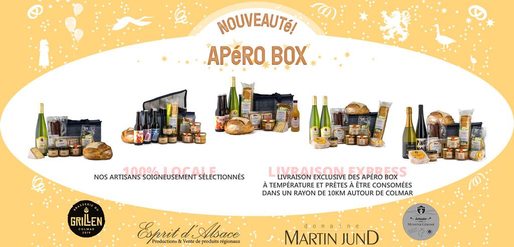 Nouveautés COLMAR BOX - APéRO BOX