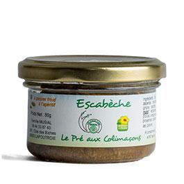 Photo de l'Escabèche par Le pré aux colimaçons – 80 g