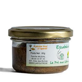 L'étiquette de l'Escabèche par Le pré aux colimaçons – 80 g