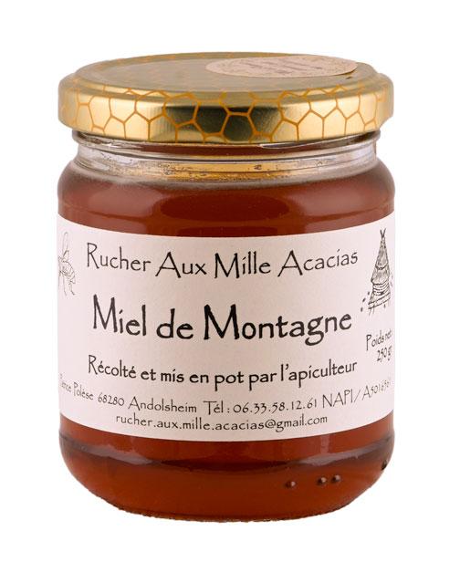 Photo de détail Pot de Miel de Montagne par le Rucher aux Mille Acacias