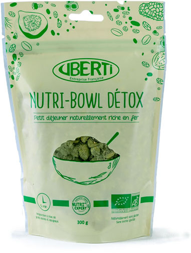 Photo du Nutri-bowl Détox Bio UBERTI