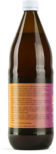 Photo 2 de l'étiquette de la boisson Kombucha BIO Uberti