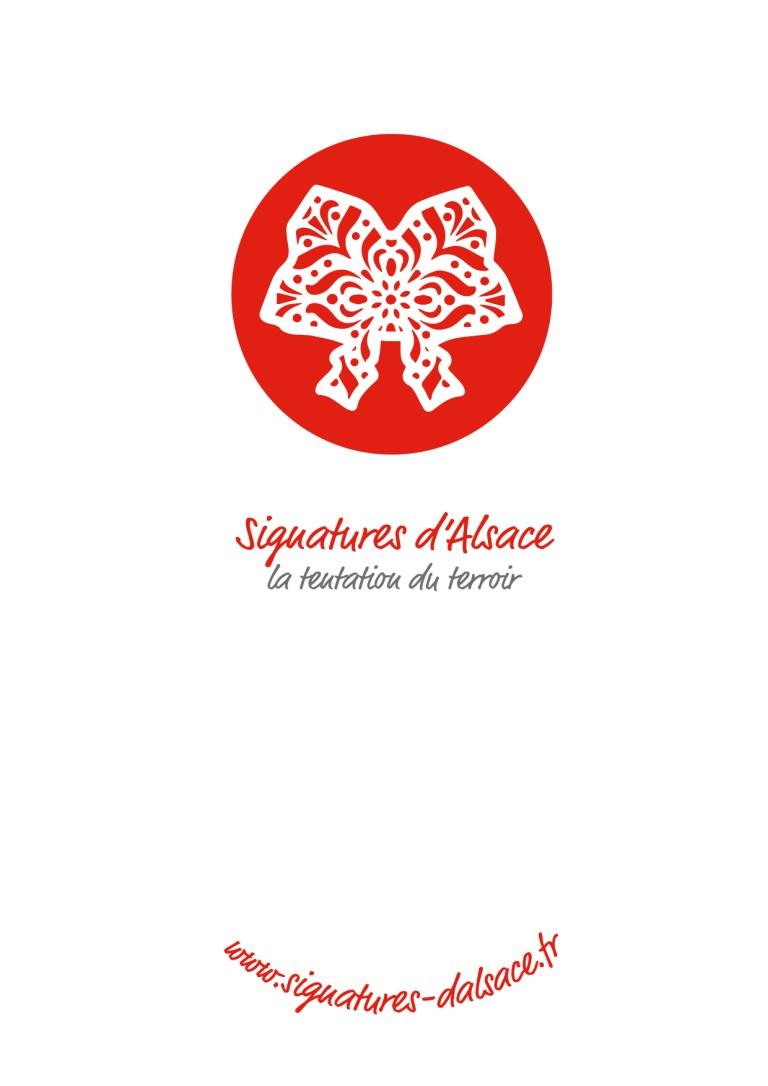 Visuel de la couverture du catalogue Signatures d'Alsace - CSE et Entreprise