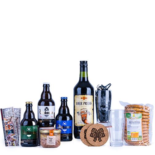 Photo des articles de la BOX Coffret Bière, une création Signatures d'Alsace