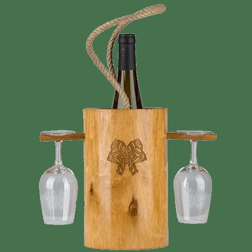 Photo du Seau à vin et porte-verres, exclusivité Signatures d'Alsace