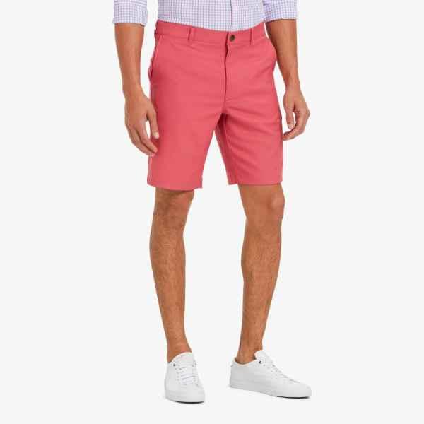 Faded Red Baron Shorts from Mizzen Main