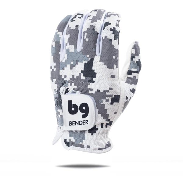 Bender- Left Hand Mesh Golf Glove   Digital Camo