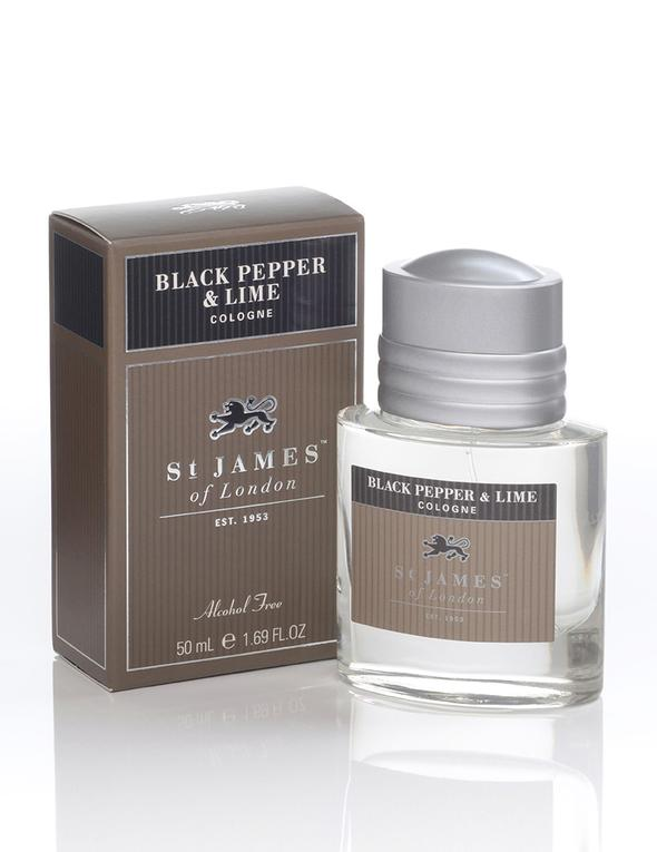 Black Pepper & Lime Cologne at Signature Stag in Lubbock Texas