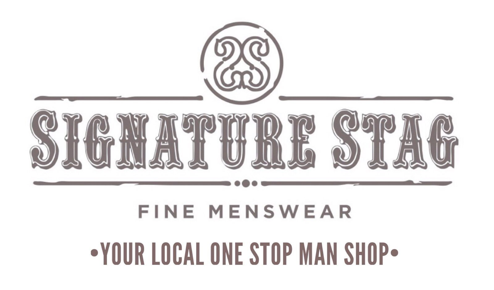Signature Stag in Lubbock TX with Fine Men's Wear