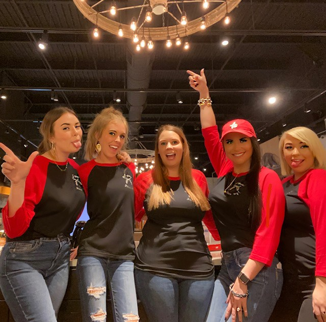 Cheer on the TTU Red Raiders with Style at Signature Stag Menswear. Red Raider Polo Shirts and T Shirts with TTU Double T Logo.