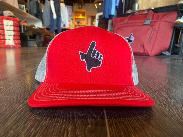 Red/Glacier Black Texas Hand