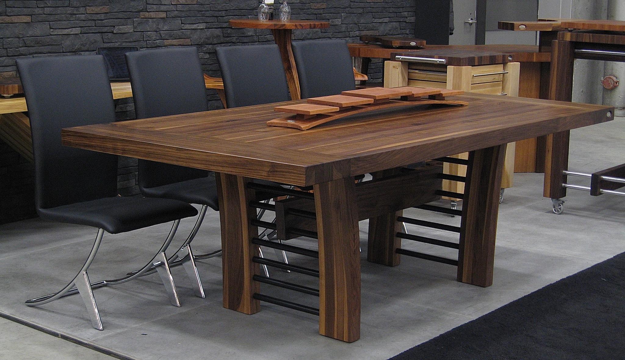 tables en bois signature stephane dion