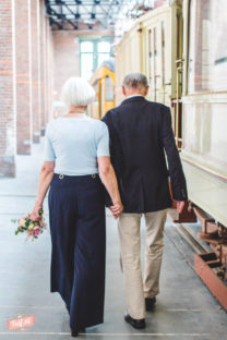 Peter + Greet   happily married for 55 years