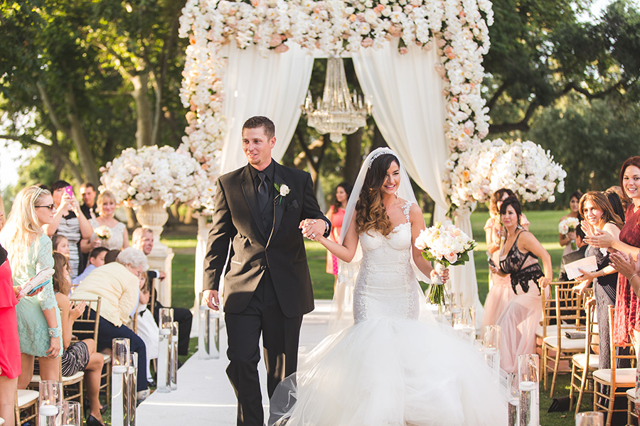 Prisca & Cash's Elegant Fairytale Wedding