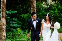 Nellie & Steven Brun's Exotic Garden Wedding in Phuket