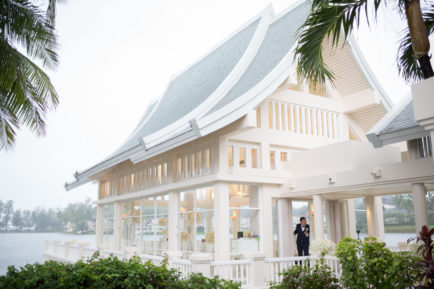 Shirley & Johnny's All-White Chapel Wedding