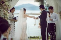 Xiaoya & Zhe's Flowery Wedding In Phuket