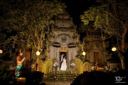 Leanne & Aron's Stunning Wedding in Ubud, Bali