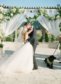 Claire & Tony's Vineyard's Tuscan Charm in California