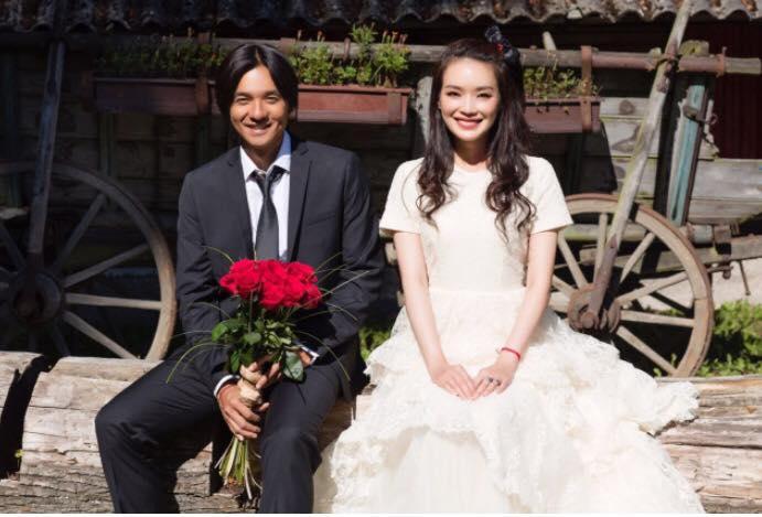 Shu Qi and Stephen Fung Surprise Wedding Photos5