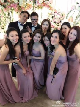 Everything about Hong Kong Celeb Tavia Yeung & Him Law's wedding.