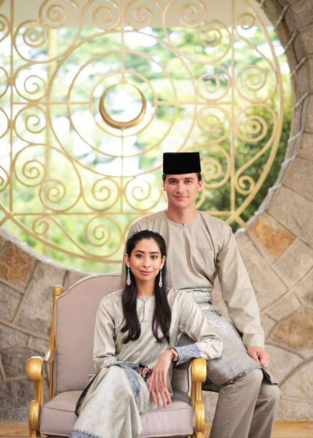 The First Official Photos Of The Princess Of Johor And Her Husband-To-Be