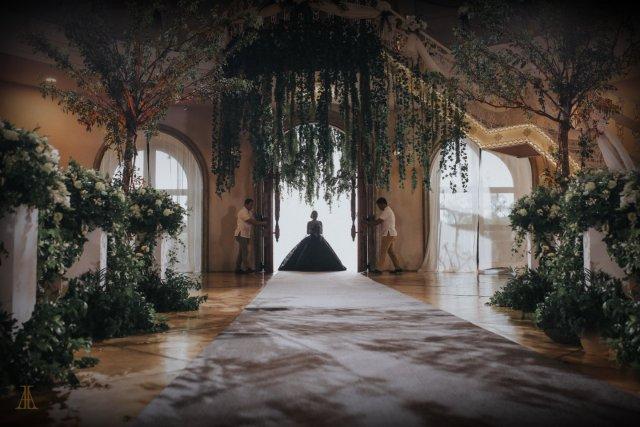 Bride Maja Salvador Wore Black Wedding Dress