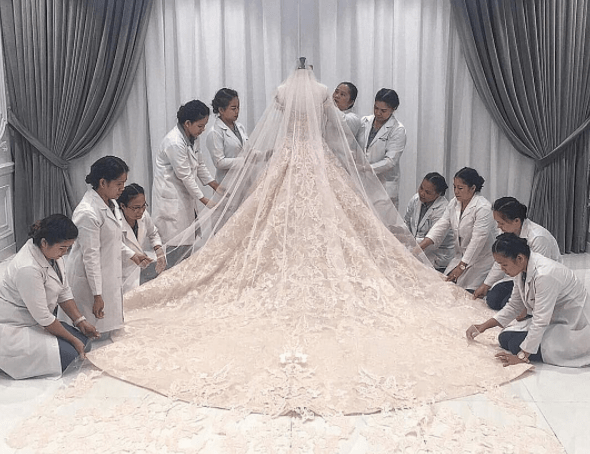 Vicki Belo & Hayden Kho - one decadent wedding celebration