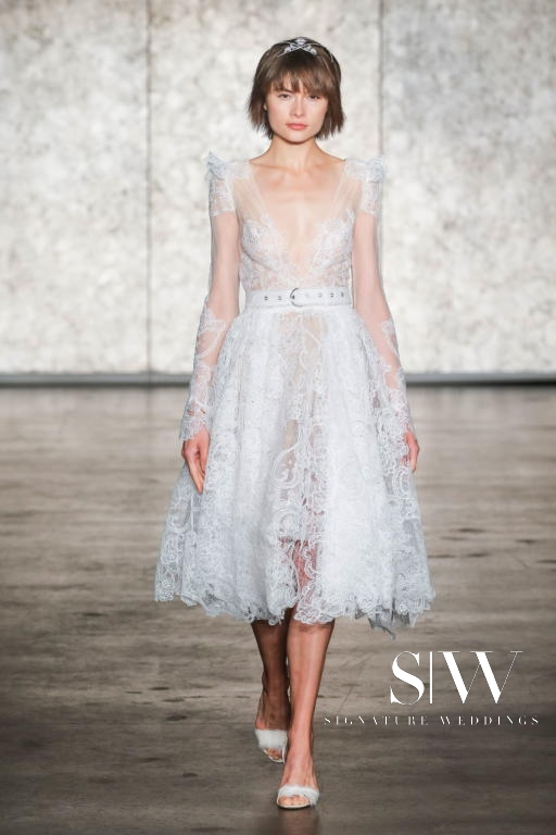 wedding-dresses, style-fashion, lookbook - INBAL DROR Fall/Winter 2018 Bridal Collection—New York Fashion Week