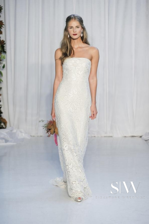 ANNE BARGE Fall 2018 Bridal Collection—New York Fashion Week