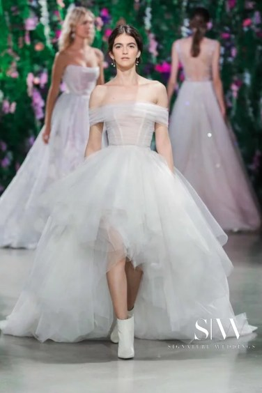 GALIA LAHAV Fall 2018 Bridal Collection—New York Fashion Week