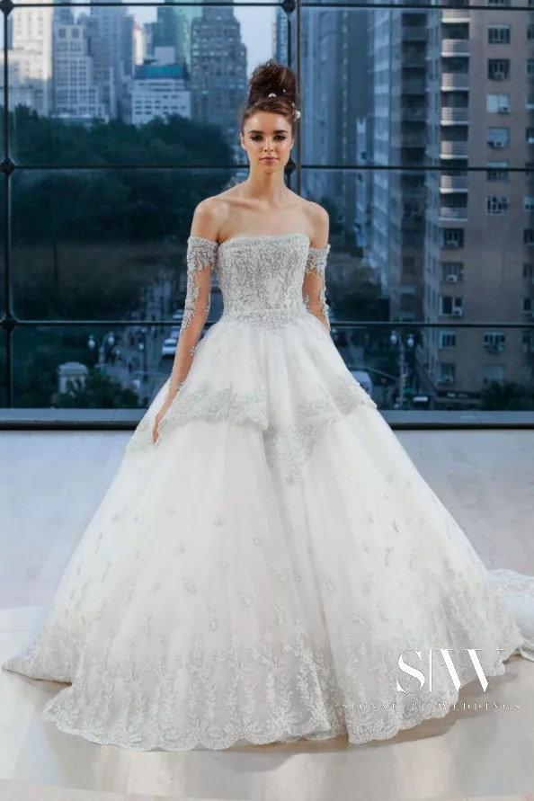 INES DI SANTO Fall 2018 Bridal Collection—New York Fashion Week