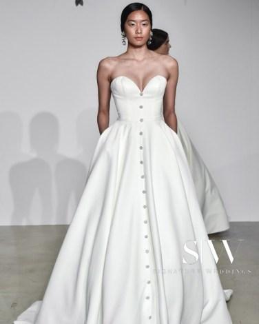 JUSTIN ALEXANDER Fall 2018 Bridal Collection—New York Fashion Week
