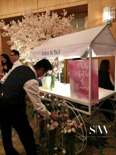 Tailored Asia Floral Cart