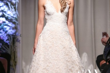 MATTHEW CHRISTOPHER Fall 2018 Bridal Collection—New York Fashion Week
