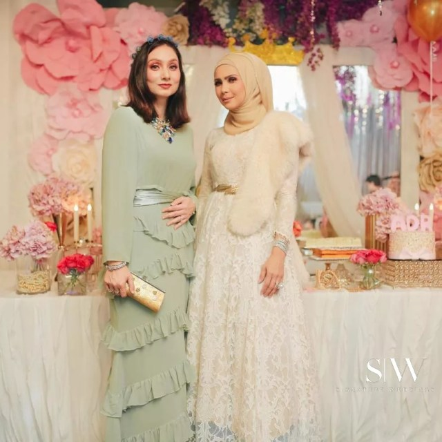 malaysia, celebrity - Rozita Che Wan Threw a Lavish Celebration for Her 3-Year-Old Aaisyah