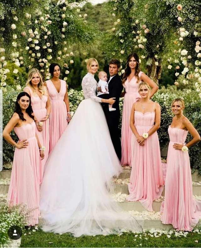 Blogger Chiara Ferragni had the most magical OTT Italian Wedding