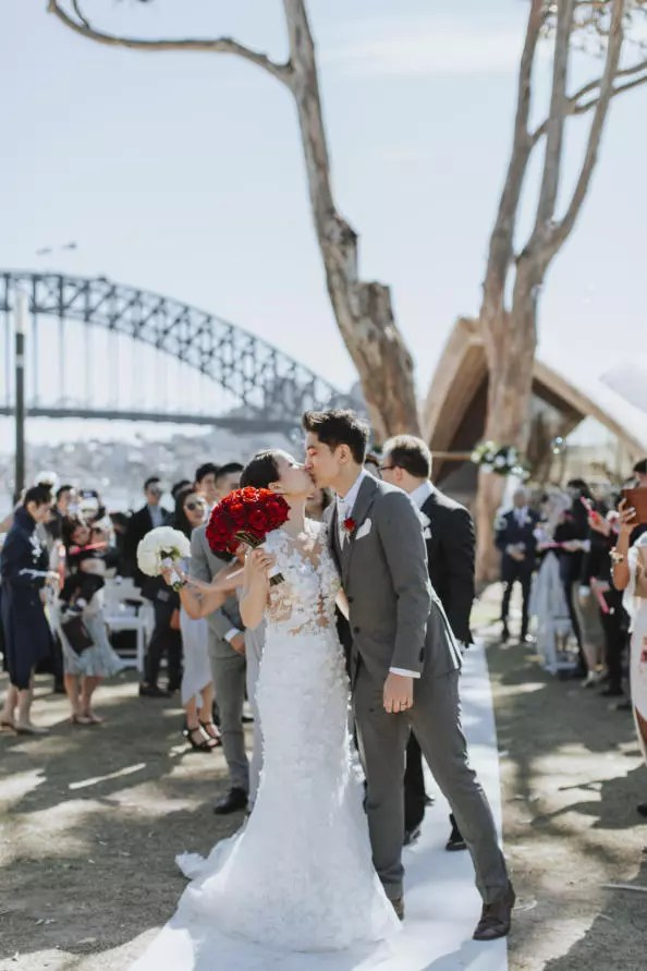 wedding, global-wedding, featured - The Sydney show for Graeme and Joana