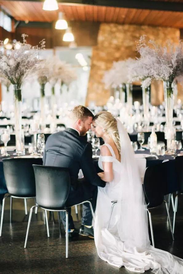 Musically strung: David and Jonté's contemporary-industrial wedding